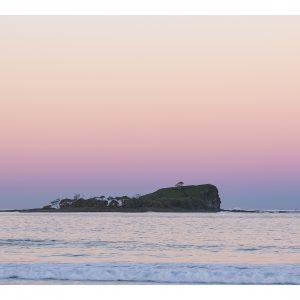 Sunset Over Beaches - Mudjimba Surf Art